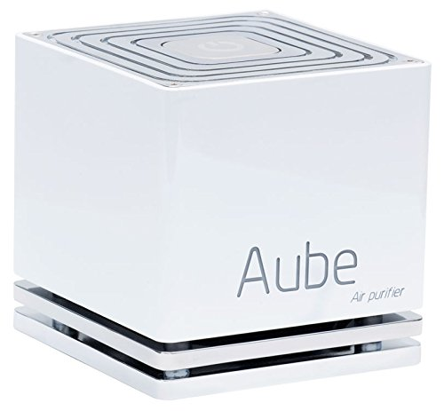 Aube ABS Purificateur d'air sans filtre par photo catalyse, 4 W, Blanc, 10 x 10 x 10 cm