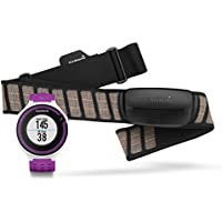 Garmin Forerunner 220 GPS Running Watch with Colour Display and Heart Rate Monitor - White/Violet