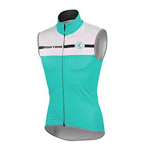Uglyfrog 2018-2019 Atmungsaktiv Fahrradweste Herren Frühling Ärmelloses Männer die Jersey Triathlon Vest Fahrradbekleidung Winter Thermal Warm Rennrad Radweste Besondere Designs