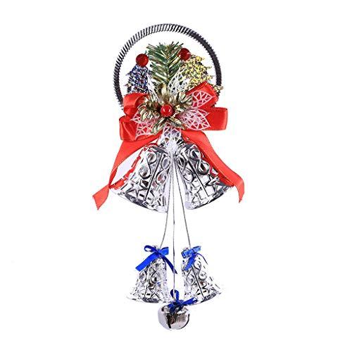jieGREAT ❄ Weihnachten Deko❄ ,Weihnachten Glocke Decortive Anhänger Weihnachtsbaum hängen Ornament Home Decor