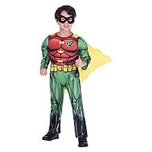 amscan Classic Child Kids Warner Bros Robin Fancy Dress Costume (8-10 Years)