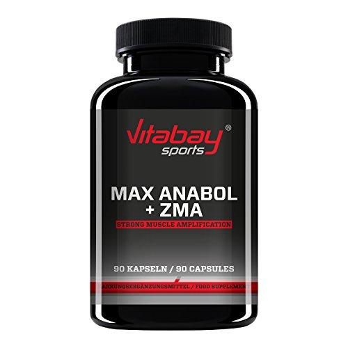 Anabol Max - mit ZMA - 950 mg - 90 Kapseln