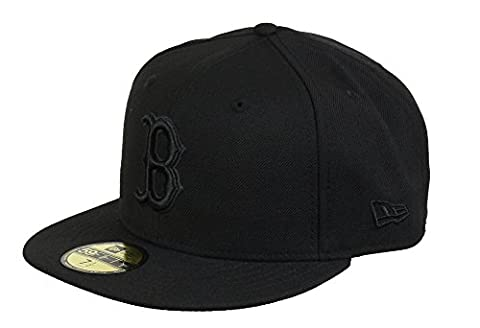 BOSTON RED SOX - NEW ERA 59FIFTY BASECAP - MLB - BLACK ON BLACK