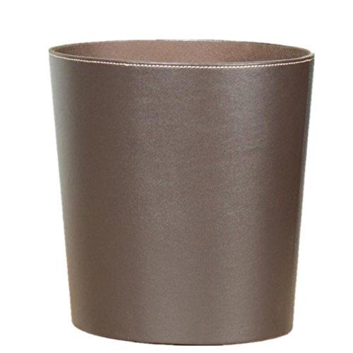 bidoni della spazzatura vestiti sporchi di barili di stoccaggio da letto cesti Guardaroba bagagli Office desk top in pelle materiali Portarifiuti legno bordo
