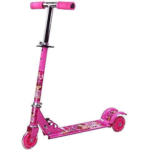 Tante Tina - Pasola / Patinete para niños - De 3 ruedas - Rosa