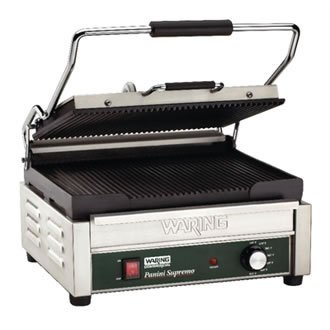 Waring commercial wpg250k double panini grill