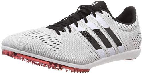 adidas Adizero avanti, Scarpe da Atletica Leggera Unisex Adulto, Bianco Ftwr White/Core Black/Shock Red), 42 EU