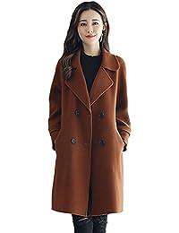 sale retailer 9b4ac 7f9d7 Suchergebnis auf Amazon.de für: Brauner Mantel - Yiquaneu ...