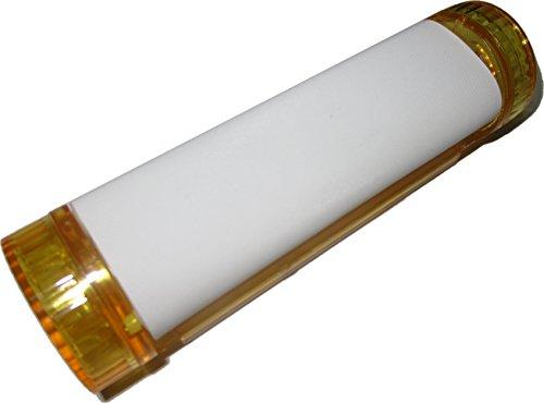 4-in-1 Zigaretten Drehmaschine / Jointroller mit Grinder, Tabakdose und Blättchenhalter inkl. Hanfblatt-Anhänger (gelb)
