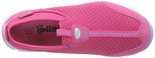 Brütting Easy Slip In, Chaussures de course femme Turquoise - Türkis (pink/tuerkis)