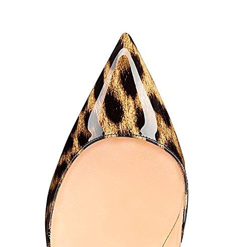 Edefs - Talons Pour Femme - Chaussures À Talons Classiques - Sexy High Heels Leopard