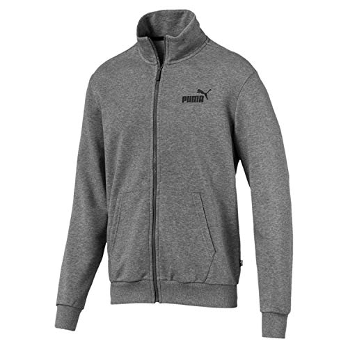 Puma Herren ESS Track Jacket TR Jacke Medium Gray Heather XL