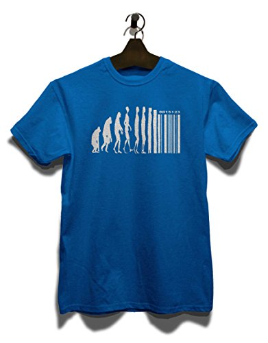 Evolution Digital T-Shirt Royal Blau