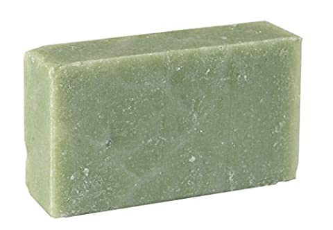 Eukalyptus- Grüne Minze Seifenstück (4Oz)- erfrischende Minze und Eukalyptus - Handgefertigtes und biologisches Bio-Seifenstückfück empfindliche Haut. Feuchtigkeitsspendende Körperseife für Haut und Gesicht. Mit Shea Butter, Kokosnussöl, Glycerin