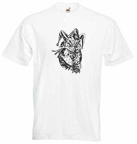T-Shirt Herren Futter Monster Seele Weiß