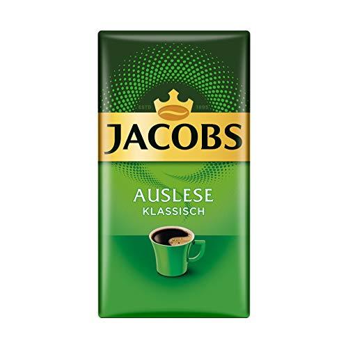 Jacobs Filterkaffee Auslese Klassisch, 12er Pack, 12 x 500 g gemahlener Kaffee