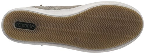 Remonte D9185, Baskets hautes femme Beige - Beige (elefant/pebble 60)