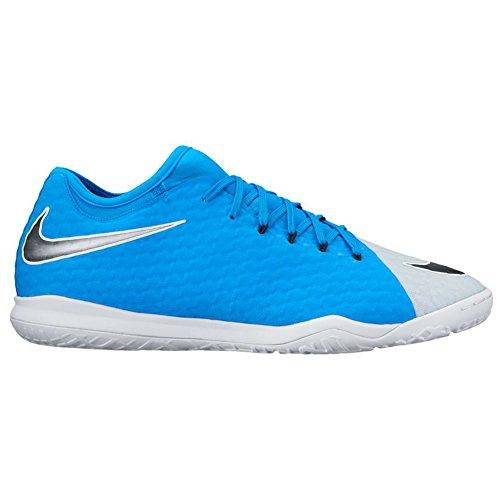 Nike Herren Hypervenomx Finale Ii Ic Fußballschuhe Mehrfarbig (Photo Blue/black-blue Tint-white-white)
