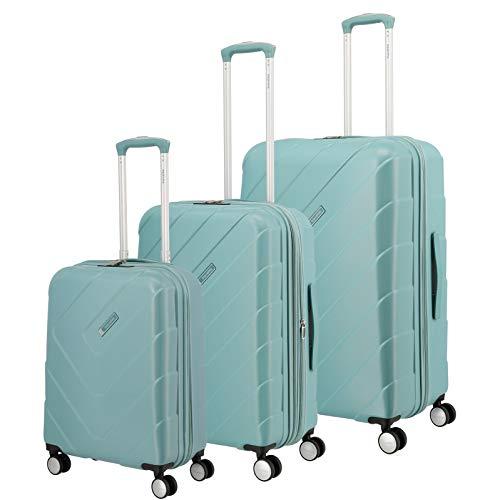 Travelite Hartschalen-Koffer-Serie 'KALISTO' von travelite in 4 Farben: topmodisch, elegant, robust, 76 cm, 216L, Aqua