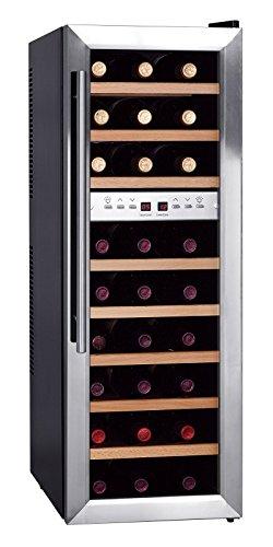 Preisvergleich Produktbild Weinkühlschrank,  345x515x718 mm,  für 18 Flaschen,  17, 5 kg