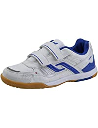 Pro Touch - Zapatillas deportivas infantiles (para interior, cierre de velcro)