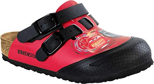 BIRKENSTOCK Clog Kay Cars 3 red 1008678, Größe + Weite:30 schmal, Farben:Cars 3 red