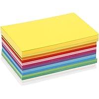 Color time - Juego de 120 tarjetas de cartulina, varios colores