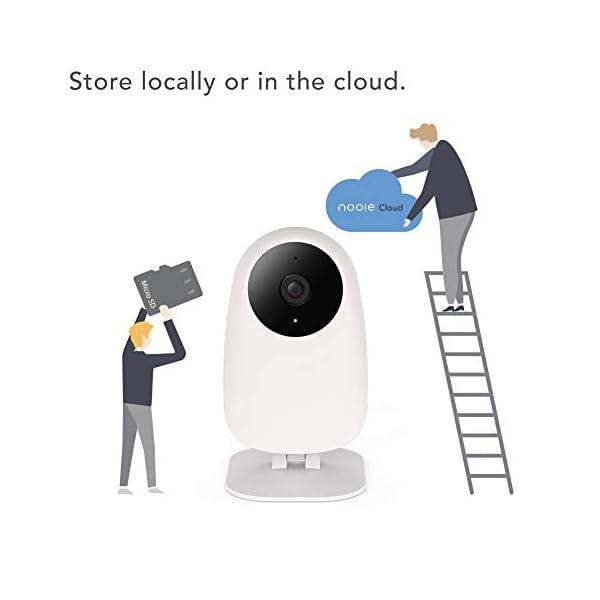 Nooie-Telecamera-IP-WiFi-videocamera-sorveglianza-interno-wifi-HD-1080P-baby-monitor-con-visione-notturna-super-IR-audio-bidirezionale