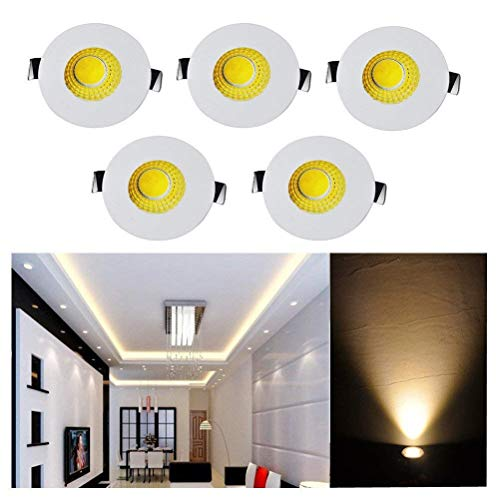 Ceiling Lights & Fans Open-Minded 3w Recessed Led Double Head Hole Rectangle Round Black Ceiling Light Warm White Home Lighting Down Night Lamp Ac 220v