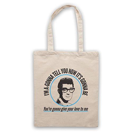 Inspiriert durch Buddy Holly Not Fade Away Inoffiziell Umhangetaschen Naturlich