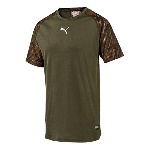Puma Vent Graphic tee–Camiseta, otoño/Invierno, Hombre, Color Forest Night, tamaño XX-Large
