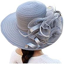 La Mujer del Kentucky Derby Sombrero Vestido Elegante Iglesia Iglesia Sol Editor