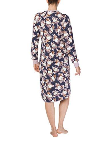 Calida Damen Nachthemd Sally Blau (Parisian Night 429)