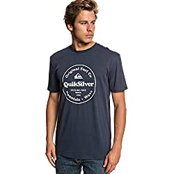 Quiksilver Secret Ingredient T-Shirt, Hombre, Blue Nights, M