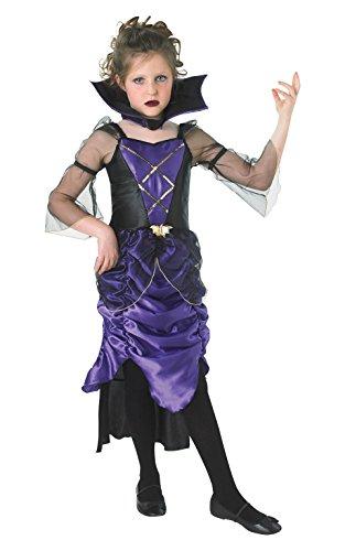 Rubie 's Offizielles Gothic Vampirin Kostüm Mädchen groß