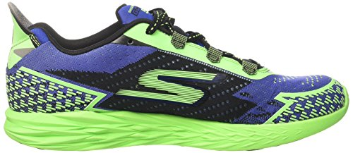 Skechers Go Run 5, Scarpe Sportive Outdoor Uomo Blu (Blue/green)