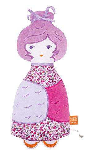 ikiboum Plüsch Marshmallow lila ()