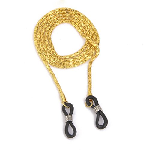 yeah67886Fashion Dekorative Metall Brillenhalter Kette Halter Hals Kordel Gold