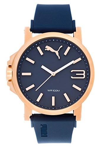 Puma Reloj Analógico para Hombre de Cuarzo con Correa en Plástico PU103461021