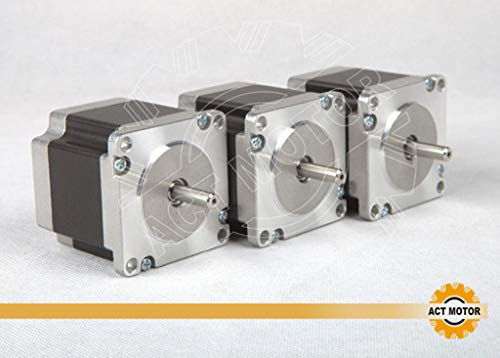 DE-SHIP FREE 3PCS 23HS6620 Nema23 Stepper Motor 56mm 180oz-in Round Shaft 2.0A 1.8° unipolar CNC OEM ACT MOTOR GmbH