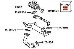 OldFe 2.5TDI Abgask/ühler Abgasr/ückf/ührung 070131512F AGR K/ühler Abgasr/ückf/ührungsventil 070131512D EGR VALVE COOLER F/ür den V W T5