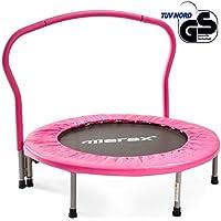 Merax Trampolin, Klappbare Trampoline, Indoortrampolin für Fitnesstraining, Minitrampolin, Kindertrampolin, Max. Benutzergewicht 80kg - preisvergleich