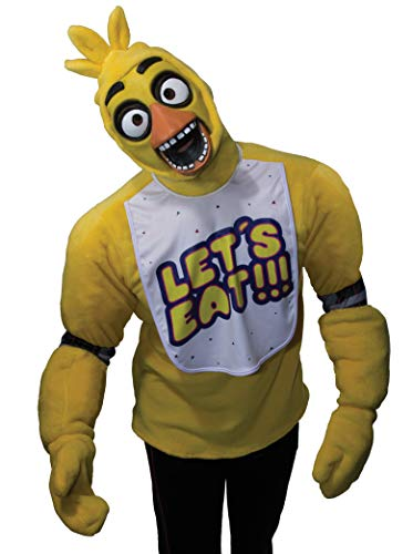 Rubie's Official Five Nights at Freddy's Chica, Adults Costume - X-Large