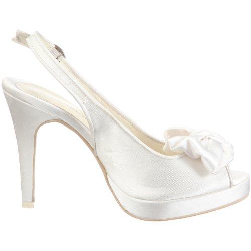 MENBUR WEDDING SHOE GRAN LAZADA 041940A04 Damen Sandalen/Brautschuhe Fashion-Sandalen Elfenbein (Ivory)