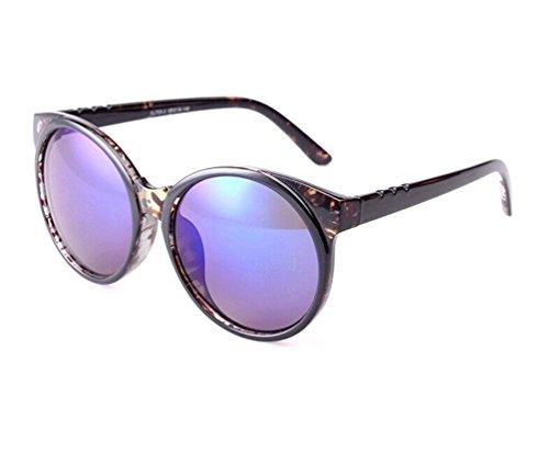 Tansle Damen Sonnenbrille Violett Schwarz/Violett
