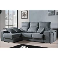 Amazon.es: Sofa Tres Plazas - Sillones y chaises longues ...