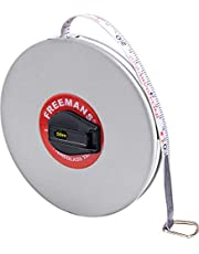 FREEMANS FN50 Fibreglass Leatheratte Measuring Tape - 50m