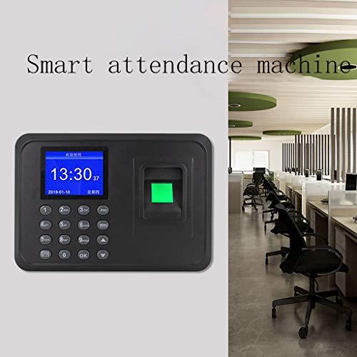 12shage 2,4-Zoll-TFT-LCD-Bildschirm Intelligente Biometrische Fingerabdruck-Password IP54 Teilnahme Maschine Mitarbeiter Check-in Recorder DC 5V Zeit Anwesenheit Uhr System