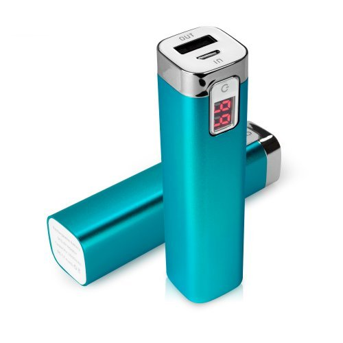 BoxWave Rejuva Power Pack Samsung Galaxy Grand Prime Power Bank - Universal, Portable 2600 mAh Rechargeable Li-ion Samsung Galaxy Grand Prime Battery Charger/Power Bank with Backlit Digital LED Power Display and Built In High Output USB Ports (Sky Blue)  available at amazon for Rs.4407