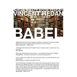 Babel Book Test (3 Books) by Vincent Hedan - Trick